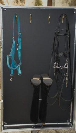 Dettaglio retro porta Baule per equitazione Big Opplà Grande